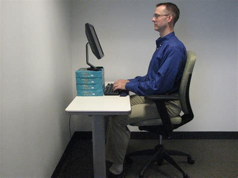 How Should I Sit At Desk by Is Computer Causing Neck Athletico