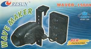 Resun Waver 15000 Wave Maker Pembuat Ombak 1 resun wave maker 15000 lph wave adjustment