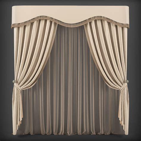 3d curtains 3d model curtain 3d model 231 vr ar low poly max fbx