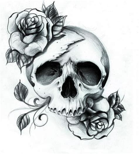 doodle skull meaning skull and roses doodle tattoos and