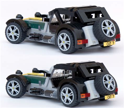 caterham 7 the kit of a kit car ideas lego