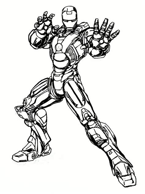 war machine iron man coloring pages coloring pages