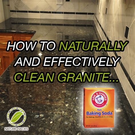 How To Clean Granite Countertops by How To Naturally Clean Granite