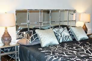 Mirror Headboard King by Diy Mirror Mosaic Headboard For King Bed 22 Hollow