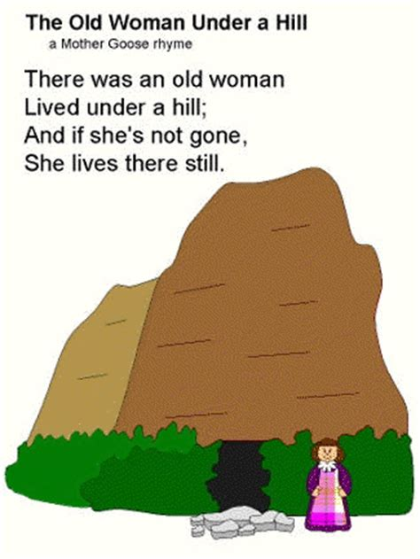 poem   woman   hill mother goose