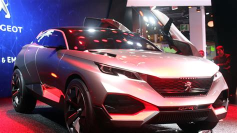 peugeot quartz side peugeot quartz concept hides a 500 hp hybrid under its
