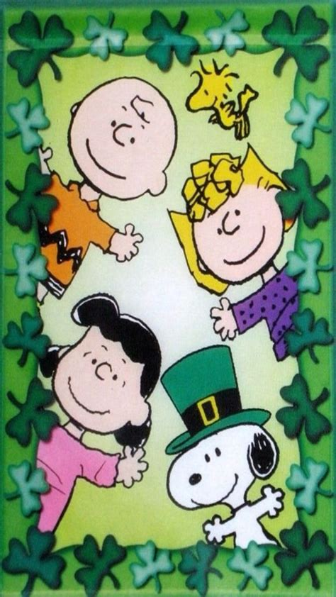 wallpaper iphone 7 snoopy iphone wallpaper st patrick s day tjn iphone walls
