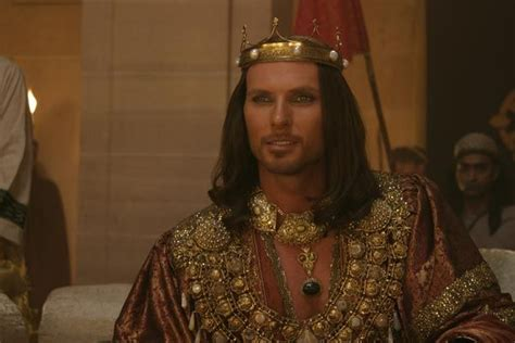 biography of xerxes quot one night with a king quot luke goss played king xerxes