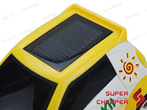 Solar Powered Racing Rc Car Fun For Kids Solar Lights For Cing