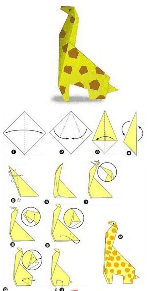 How To Make Paper Animals Easy - really easy origami animals comot