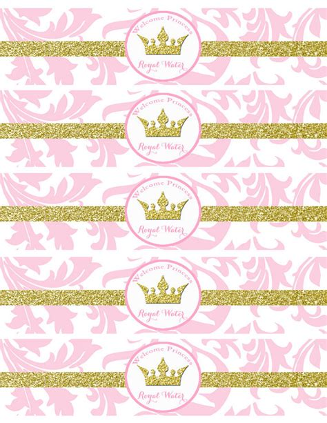 Easy Upholstery Step By Step Pink Princess Baby Shower Water Bottle Labels Printable