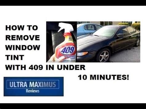 remove window tint  glue   minutes doovi