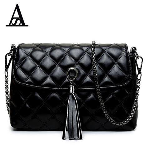 Sling Bag Fashion Murah 2in1 aitesen classic rhombic leather bag simple fashion shoulder sling bag tassel for