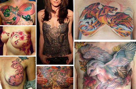 15 mastectomy tattoos proudly shown by survivors