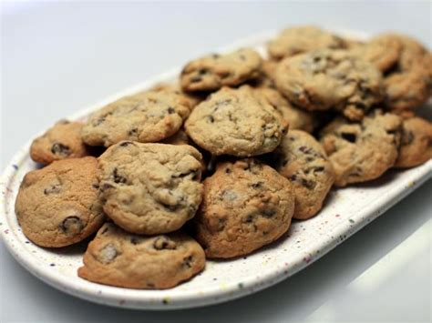 ate chocolate chip cookies chewy chocolate chip cookies recipe food network kitchen food network
