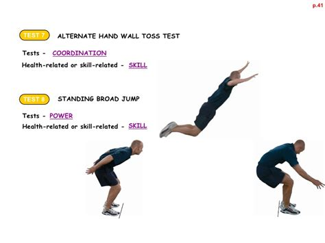 Standing Broad Jump 1 1 4 physical activity as part of your healthy active