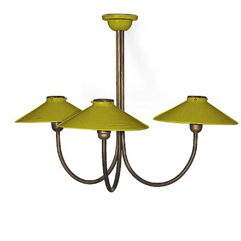 Green Ceiling Lights Ceramic Ceiling Light With 3 Olive Green Shades On Brass Frame