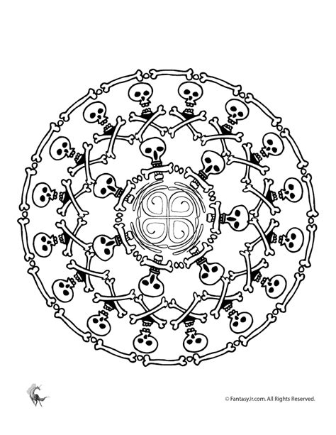 intricate pumpkin coloring pages halloween mandala coloring pages woo jr kids activities