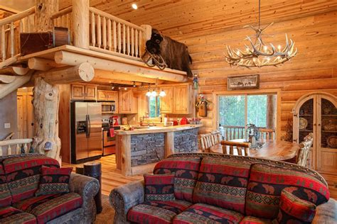 Log Home Interior Walls Log Home Interiors Yellowstone Log Homes