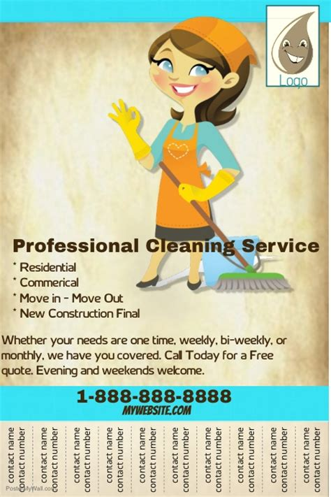 Professional Cleaning Service Flyer Template Postermywall Cleaning Service Flyer Template