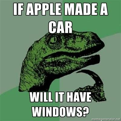 Funny What Memes - if apple makes a car funny meme funny memes