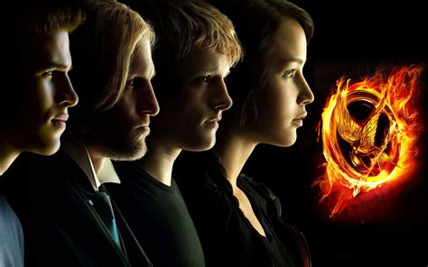 hunger games characters wallpaper 612222