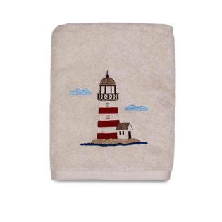 Lighthouse Bathroom Rugs Essential Home Point Bay Lighthouse Bath Towel Home Bed Bath Bath Bath Towels Rugs