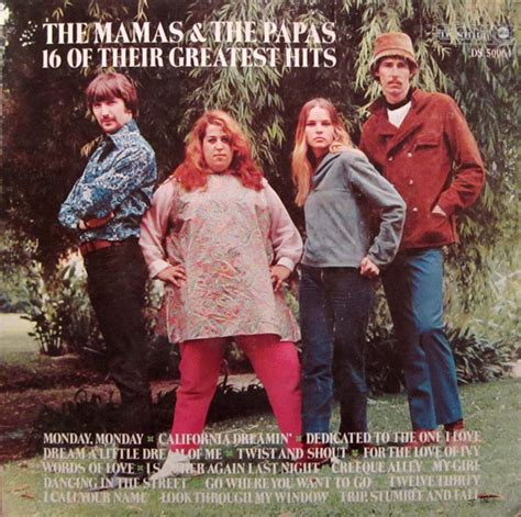mamas and papas best of the mamas the papas 16 of their greatest hits at discogs