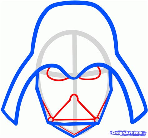 Easy Things To Draw From Wars by How To Draw Darth Vader Easy Step By Step Wars