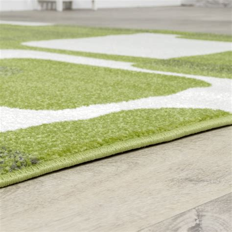 teppich weiß muster wandfarbe grau braun lila