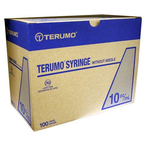 Terumo Syringe 10cc terumo syr 10cc ls 100ct