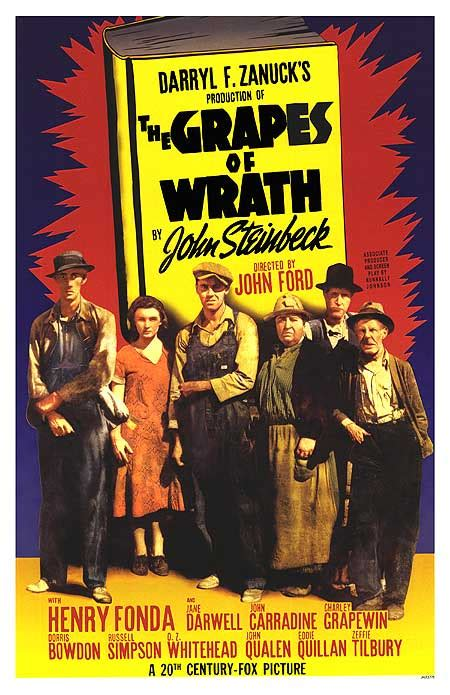 grapes of wrath theme song grapes of wrath movie posters at movie poster warehouse