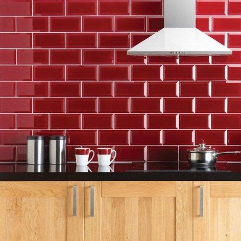 red tile backsplash kitchen 17 best ideas about red glass on pinterest red vases