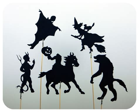 shadow puppets templates mash shadow puppet set black