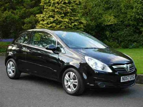 Vauxhall Corsa Cars 2007 Vauxhall Corsa 1 3 Cdti Club 3dr Ac Car For Sale