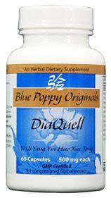 supplement yin blue poppy herbs diaquell blue poppy originals
