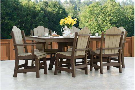 poly patio furniture poly outdoor furniture the barn raiser