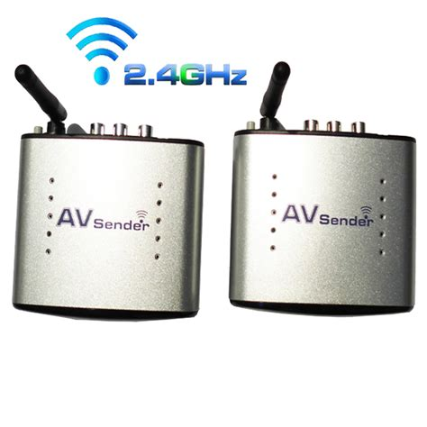 2 4g Wireless Av Transmitter 2 4g wireless av transmitter receiver audio