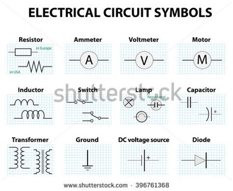 electrical engineering schematic symbols electrical