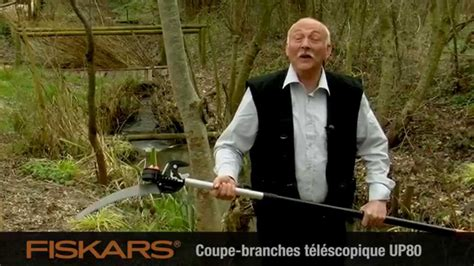 Coupe Branche Fiskars 4993 by Vid 233 O Fiskars Scie Pour Coupe Branches Multifonctions