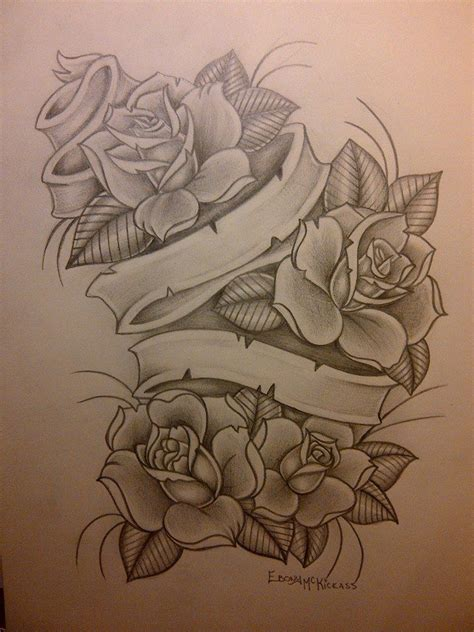 rose and banner tattoo designs best 25 banner ideas on banners