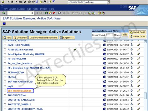 tutorial sap solution manager service level reporting with in the sap solution manager