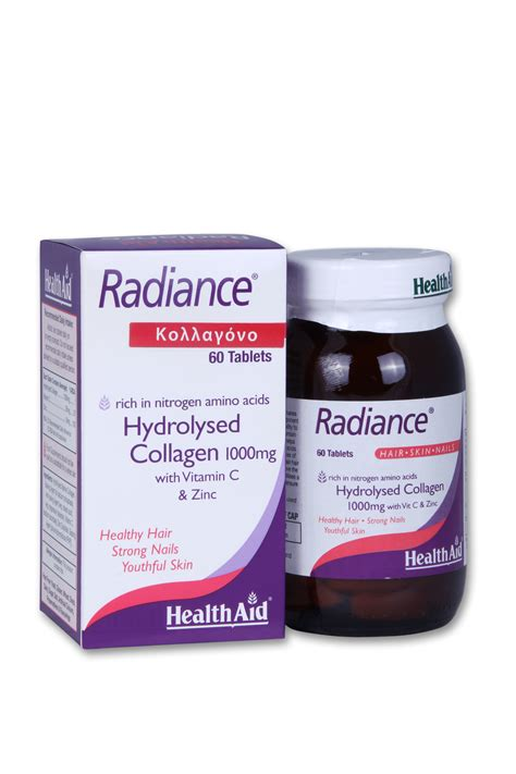 Radiance Collagen health aid radiance collagen 60tabs pharmaplus gr