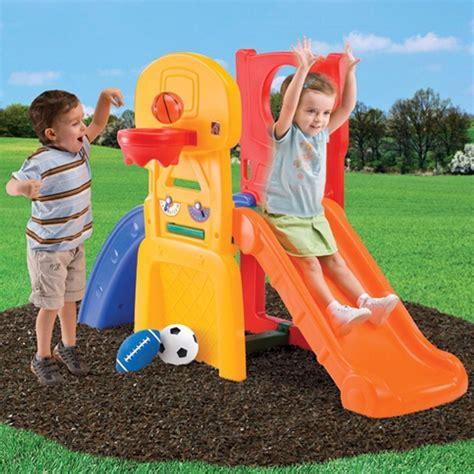 step2 play basketball play allstar hoop slide kids climber