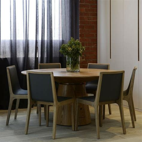 The Block Dining Tables Drum Dining Table 100cm The Block Shop Channel 9