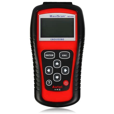Autel Maxiscan Ms509 Obd Scan Tool Obd2 Scanner Mobil Oem Guaranted ms509 autel diagnostic scanner code reader car tool