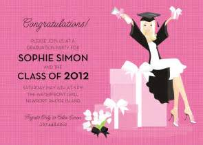 graduation invitation wording invitation templates