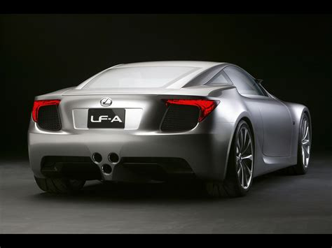 lexus sport car lfa 2007 lexus lf a sports car concept