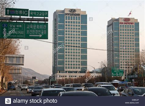 Where Is Kia Headquarters South Korea Hyundai Kia Motors Headquarters Seoul Stock
