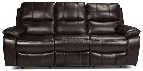 kimberlee reclining sofa dark brown levin furniture